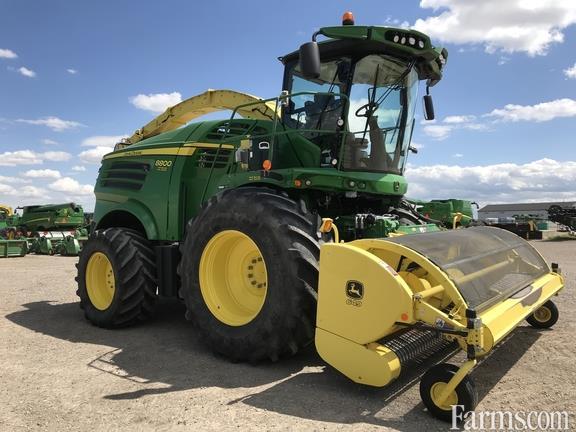 John Deere 2016 8800 Forage Harvesters