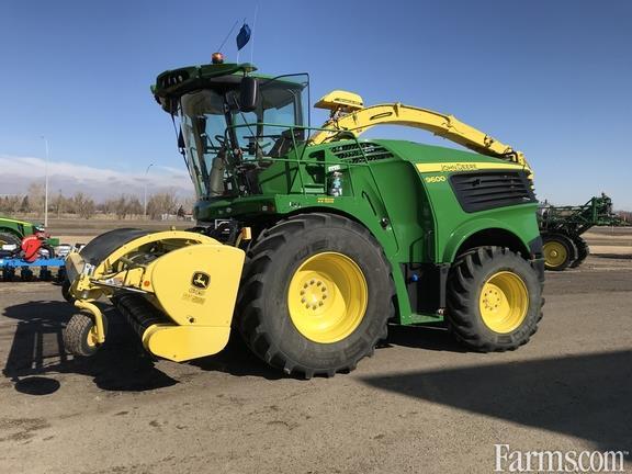 John Deere 2019 9600 Forage Harvesters