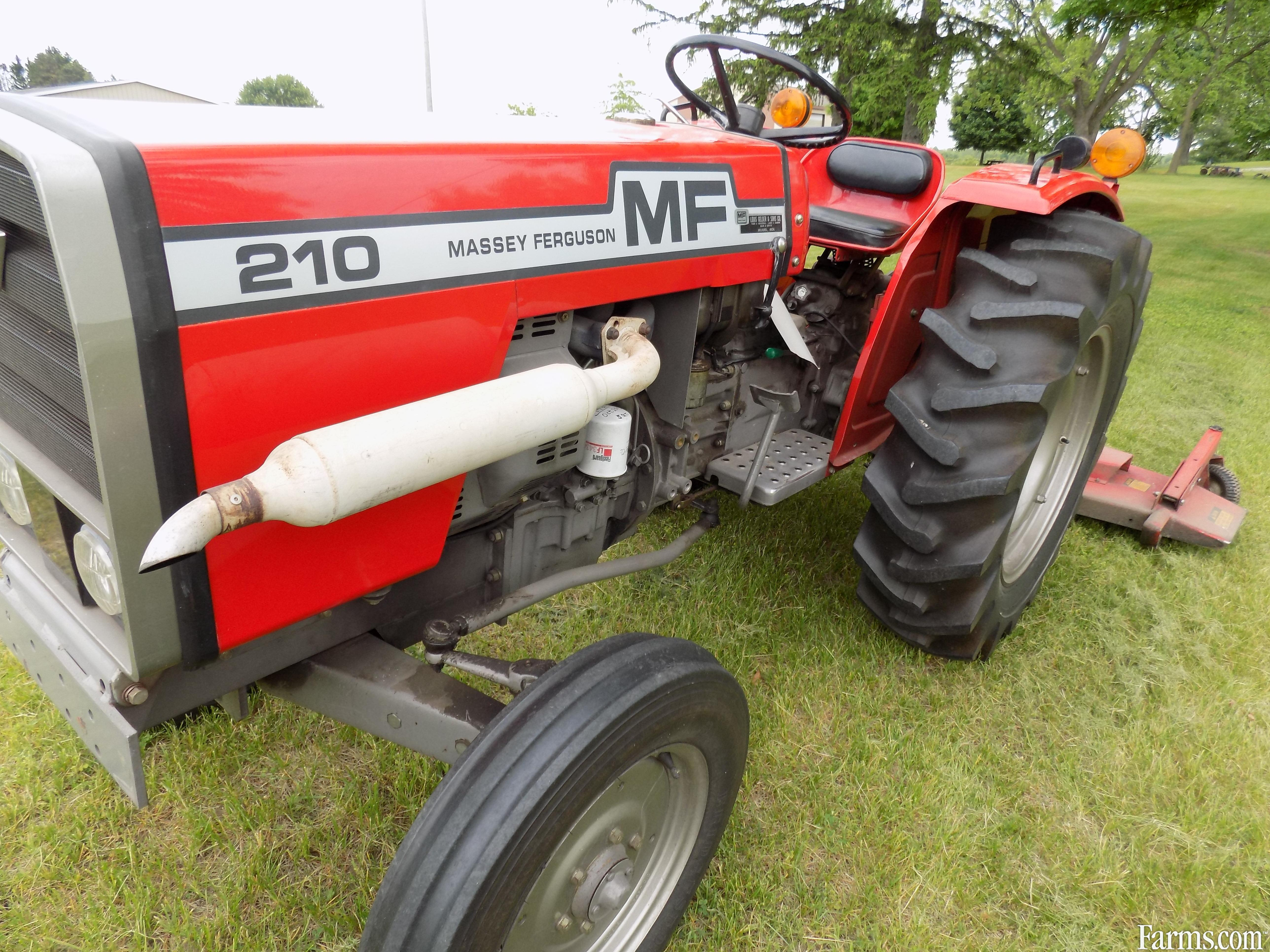 Massey Ferguson 210 Tractor : Massey ferguson other tractors for sale usfarmer