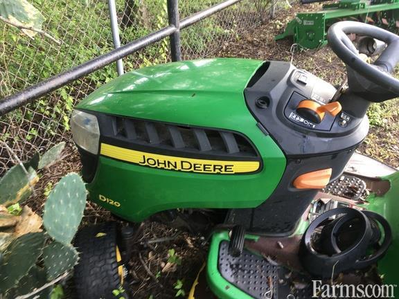 2012 John Deere D120
