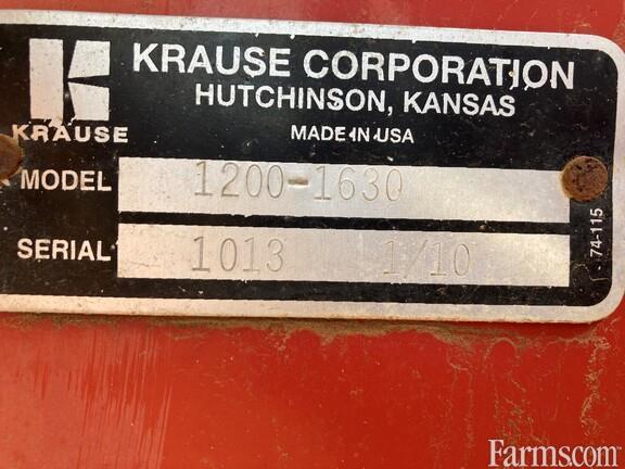 2011 Kuhn Krause 1200-1630