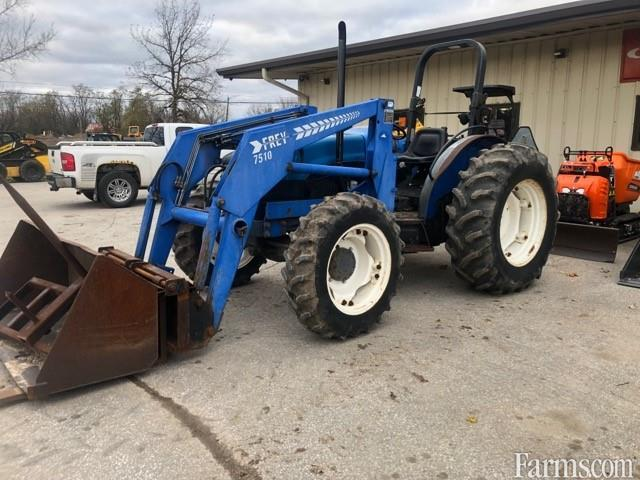 TN75 New Holland 4WD Tractor