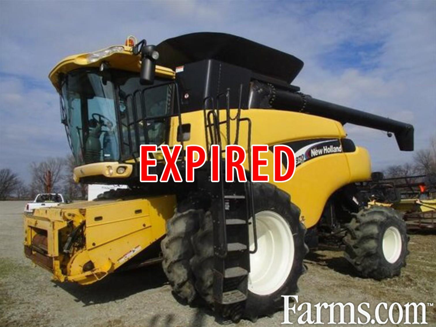2005 NEW HOLLAND CR 970 Combine