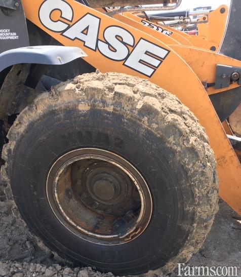 2017 Case Ih 721GZBAR Backhoe and Loader