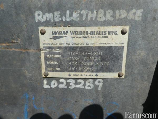 2018 Case Ih 721GXR Backhoe and Loader