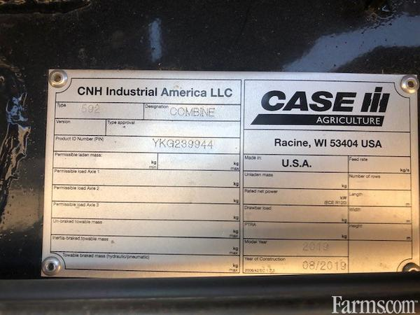 2019 Case IH 9250 Combine