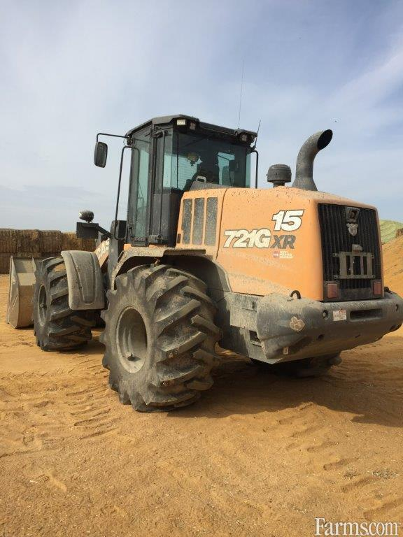 2020 Case Ih 721GXR Backhoe and Loader