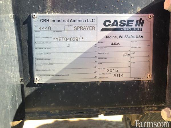 2015 Case IH 4440-120 Sprayer - Pull Type