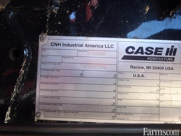 2018 Case IH 9240 Combine