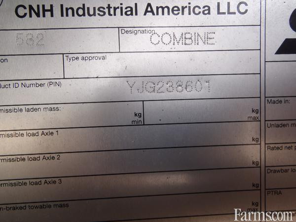 2019 Case IH 8250 Combine
