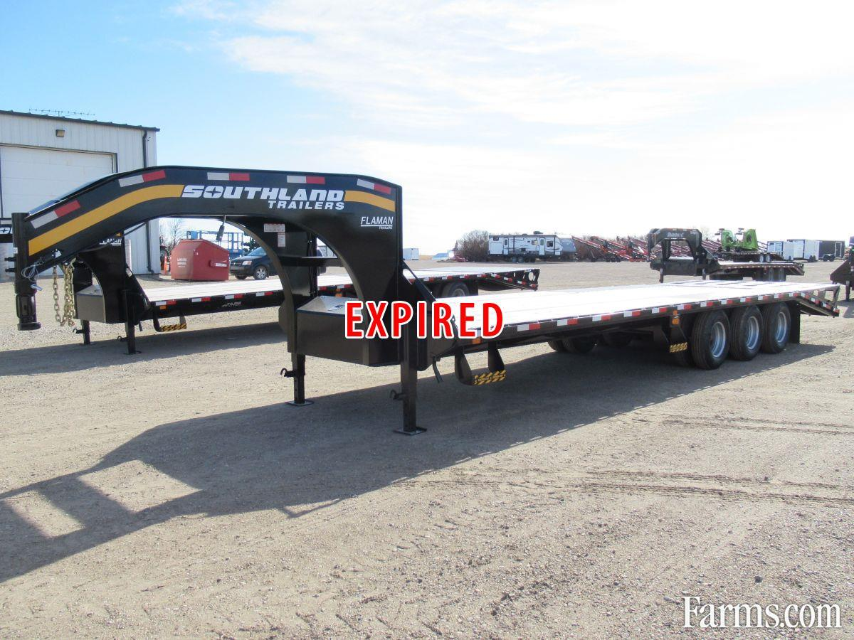Southland 2021 310 Flatbed Trailers