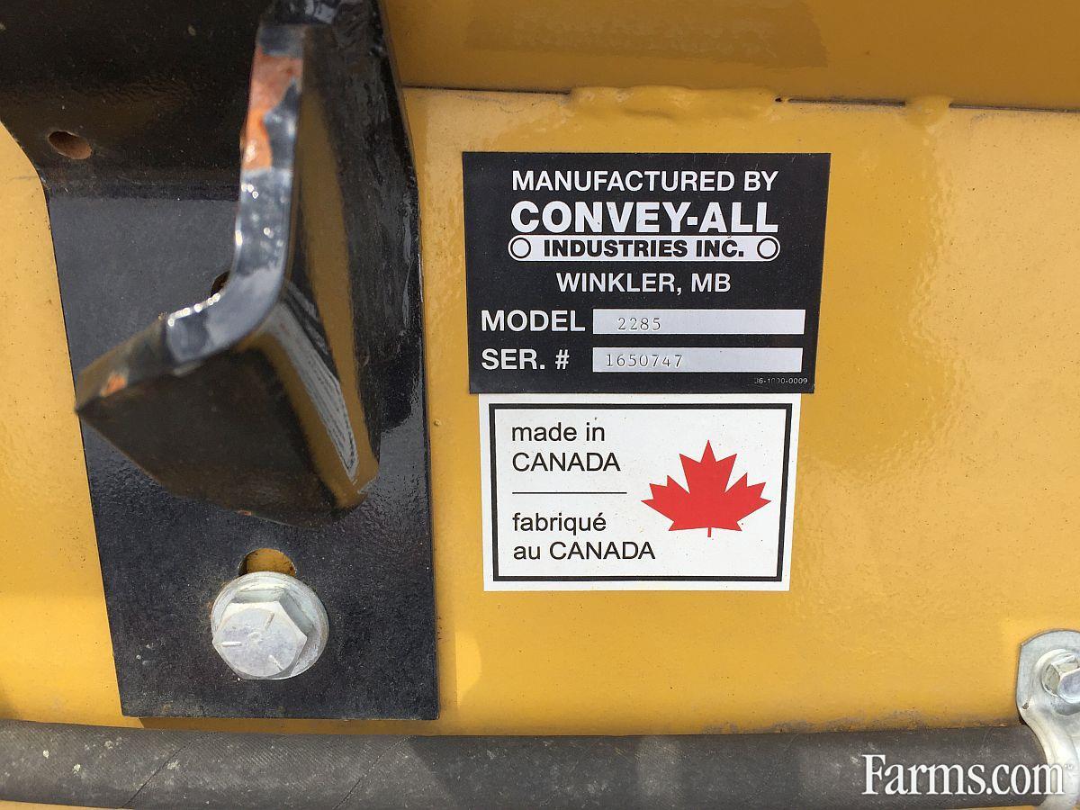 CONVEY-ALL Industries 2018 2285 Augers / Elevators / Conveyors