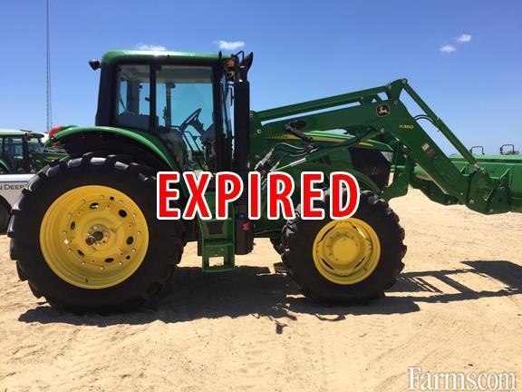 John Deere 2015 6150M Cab Other Tractors