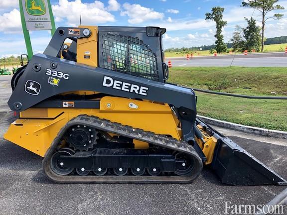 John Deere 2021 333G Track Loaders