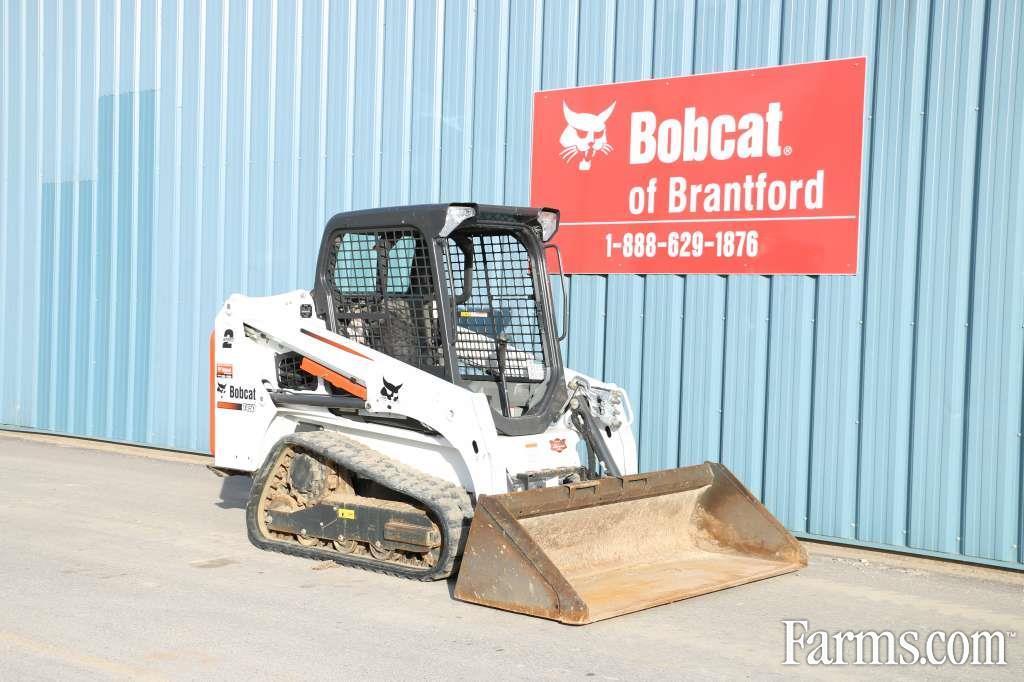 Bobcat Of Brantford >> Bobcat 2016 T450 Skid Steers For Sale Usfarmer Com