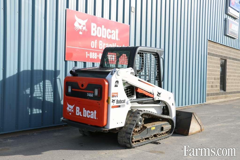 Bobcat Of Brantford >> Bobcat 2016 T450 Skid Steers for Sale | USFarmer.com