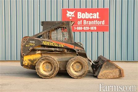 Bobcat Of Brantford >> New Holland Construction 2005 Ls150 Skid Steers For Sale
