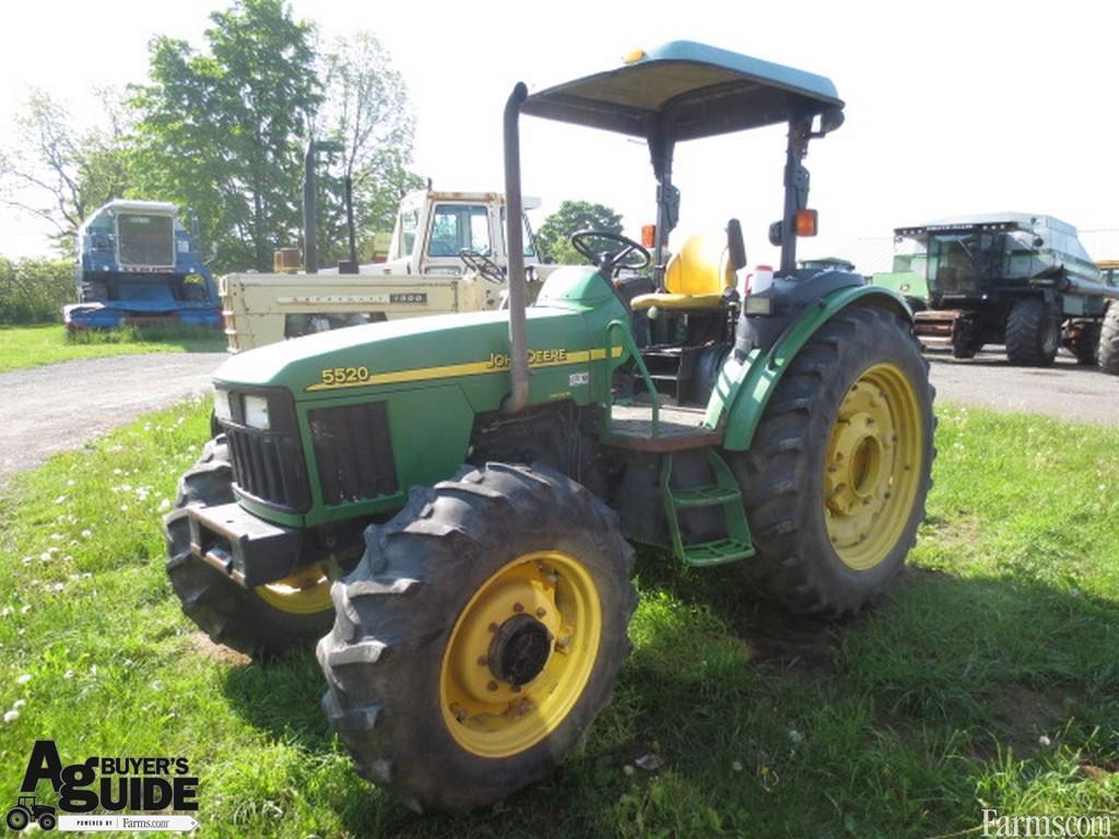 John Deere 5520 Tractor #7C9536