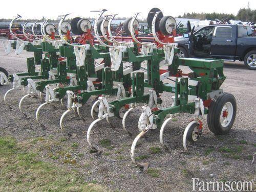 Glencoe 12 Row Crop Cultivators