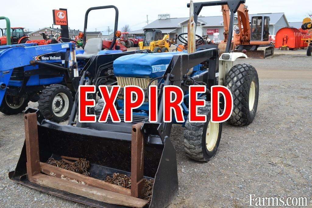Ford 1710 Loader : Front end loader ford tractor
