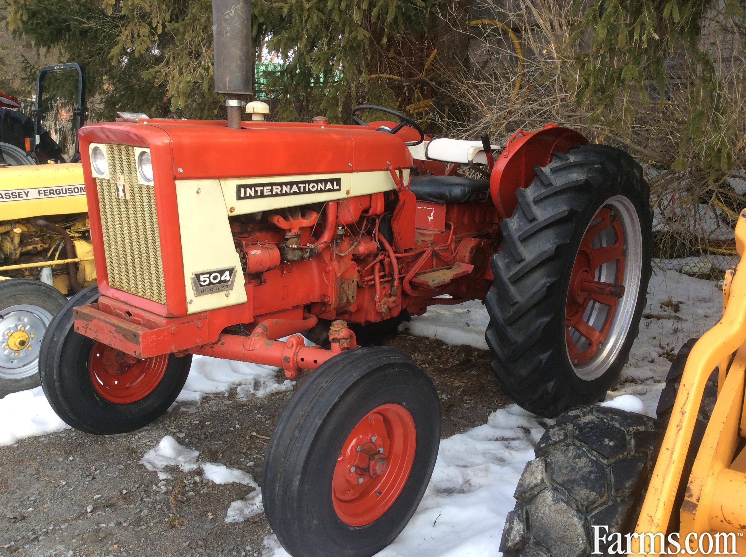 International 504 Tractor : International tractor for sale farms