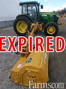 Three used John Deere Tractors with Diamond Boom Mowers