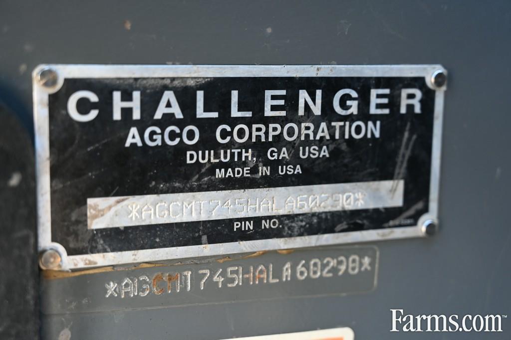 2005 Challenger MT745B