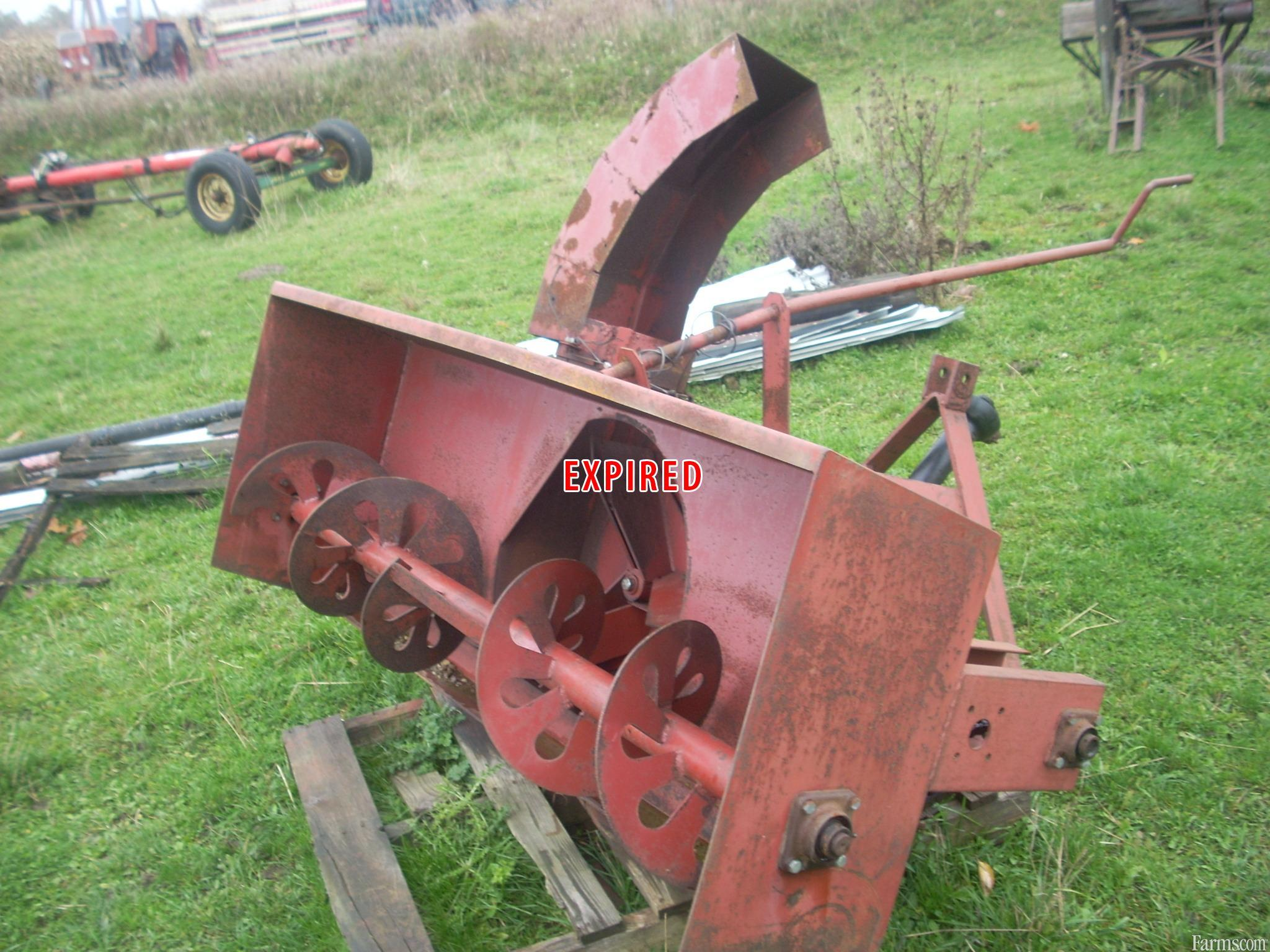 Mckee 6ft snowblower for sale for Used lawn and garden equipment