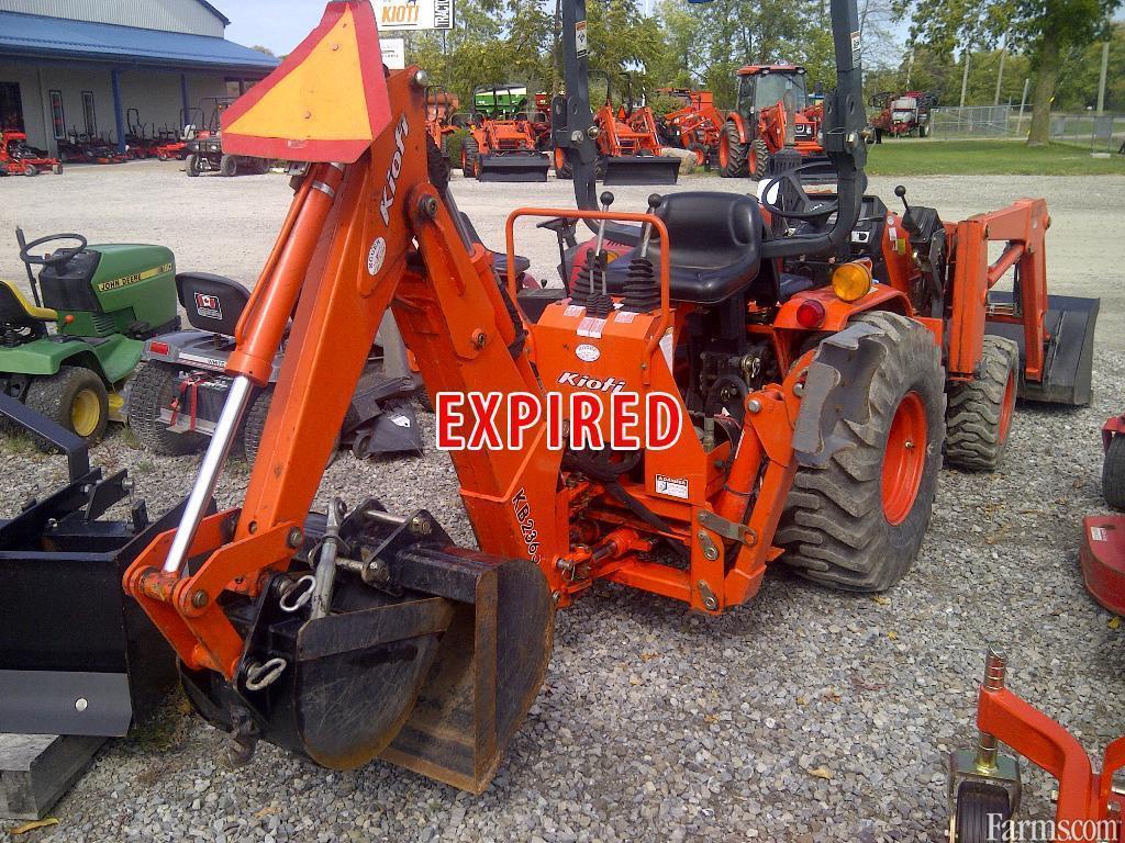 KIOTI LB1914 Loader Tractor