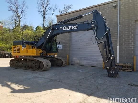 John Deere 2017 470G LC Excavators
