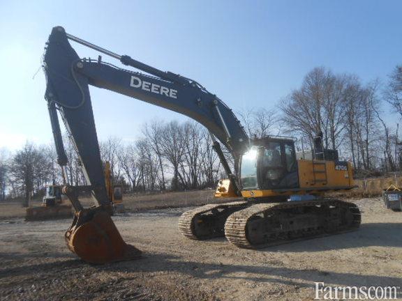 John Deere 2014 470G LC Excavators