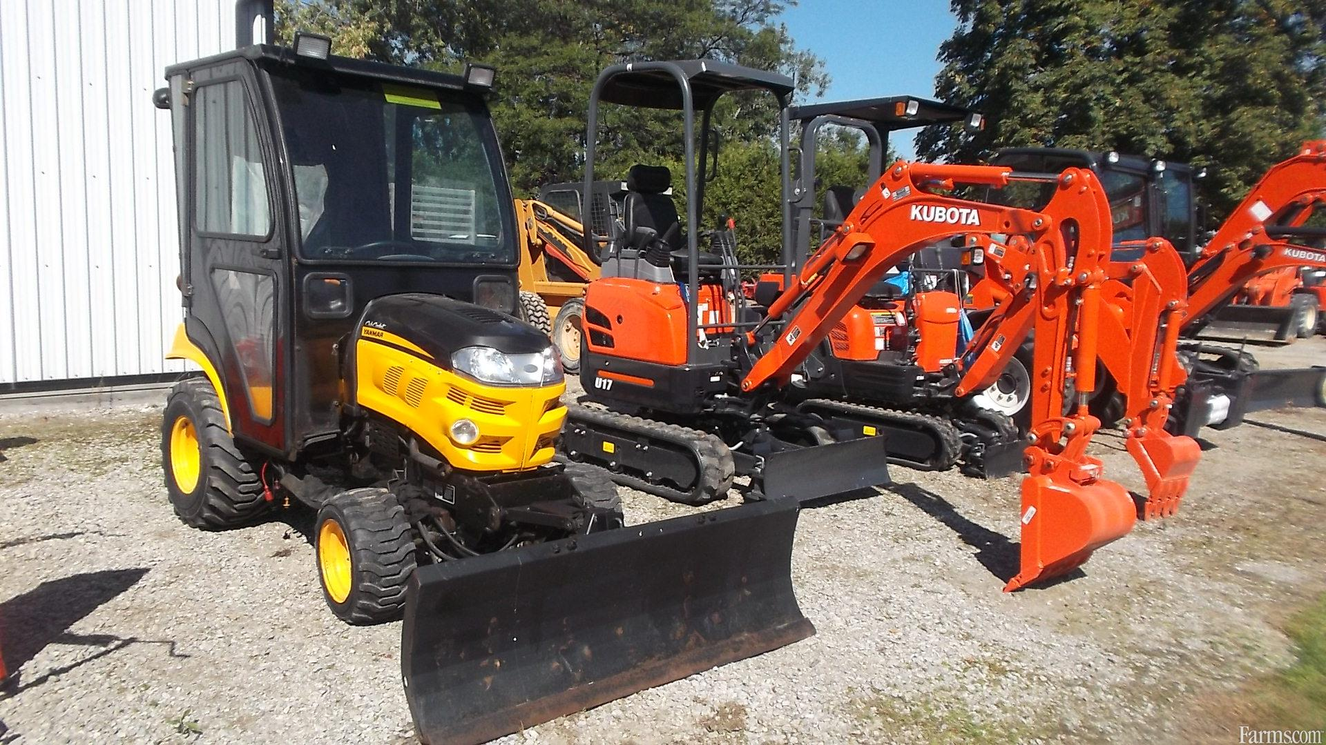 Used Compact Tractor : Cub cadet yanmar sc compact tractor for sale farms