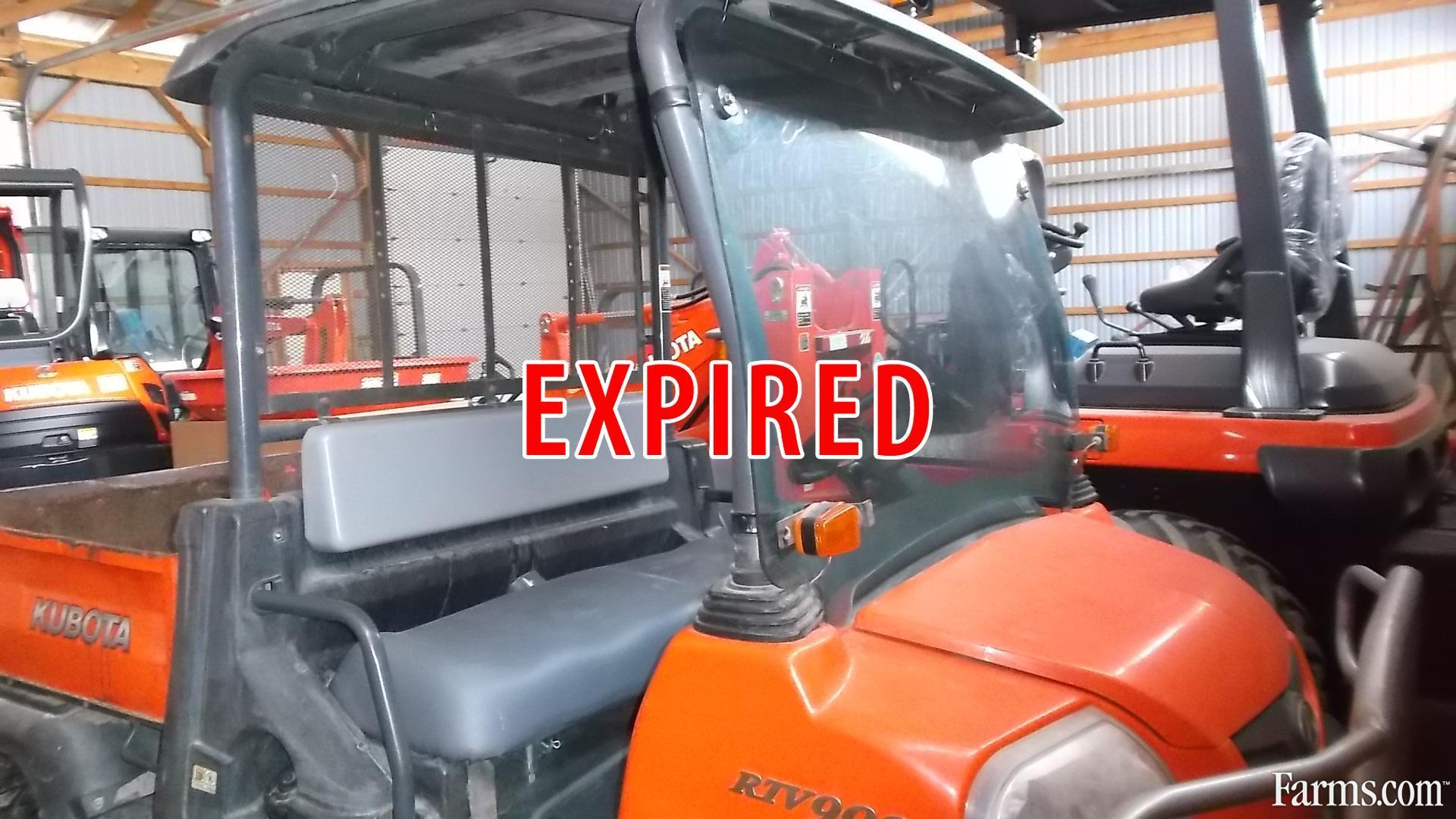 Kubota Rtv900 Recreational : Kubota rtv utility vehicle for sale farms