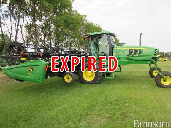 John Deere 2016 W150 W/430D Mower Conditioners / Windrowers