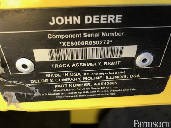 2015 John Deere 36 In. Combine Tracks with Ag Belt