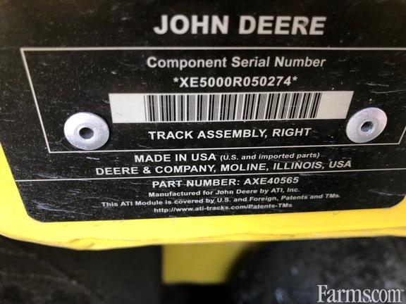 2015 John Deere John Deere 36 In. Combine Tracks with Ag. Belt