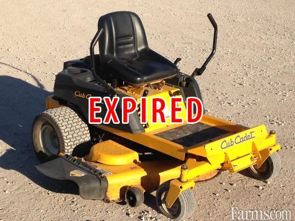 Cub Cadet Lawn Mowers Dealers : Cub cadet rzt riding lawn mower for sale farms