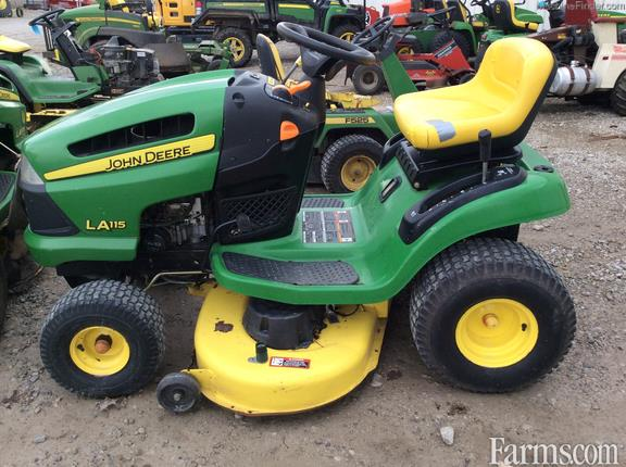 2009 John Deere La115 Riding Lawn Mower For Sale Farms Com