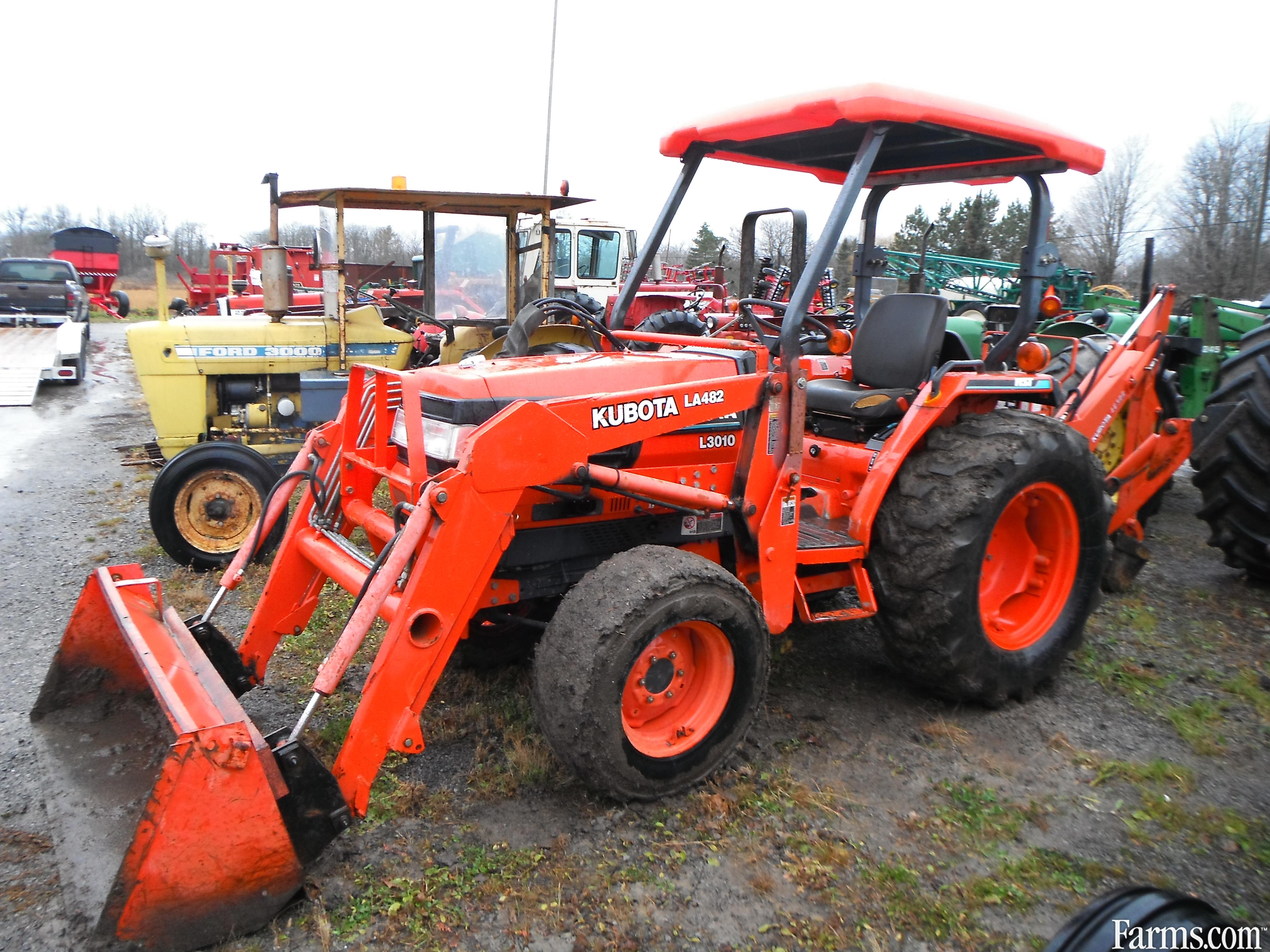 Kubota L3010d Tractor Compact For Sale