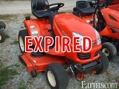Kubota Lawn Tractor For Sale Farms Com