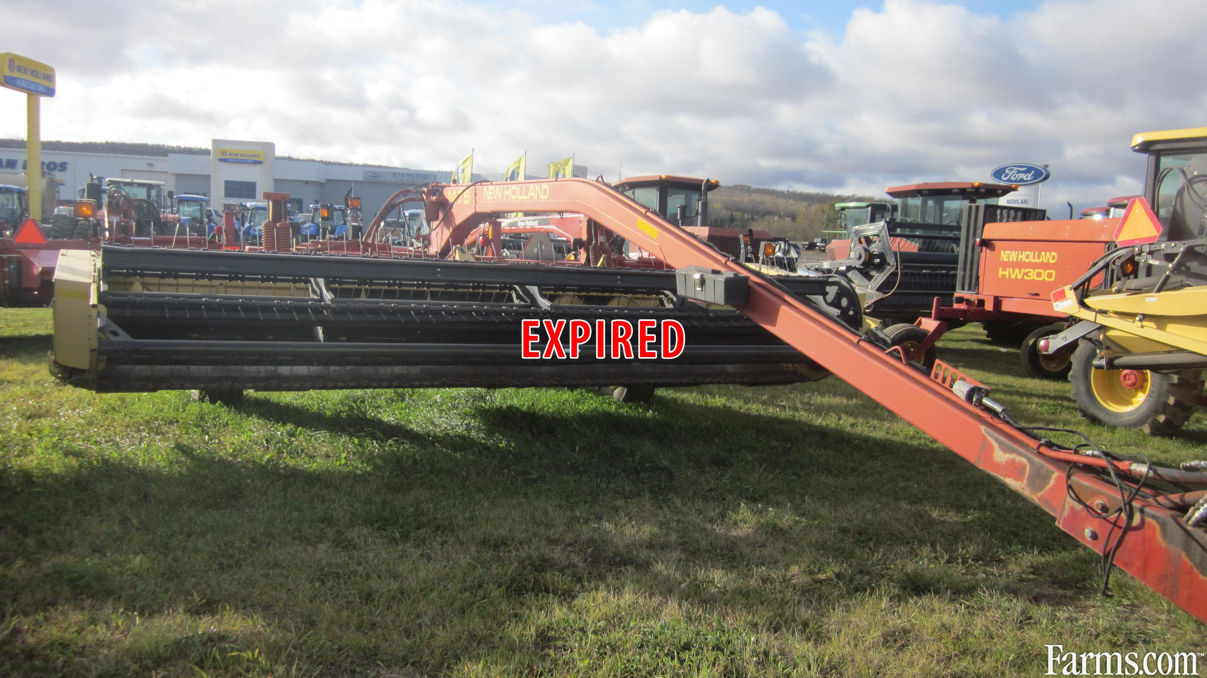 New Holland 1998 1475 Disc Mowers