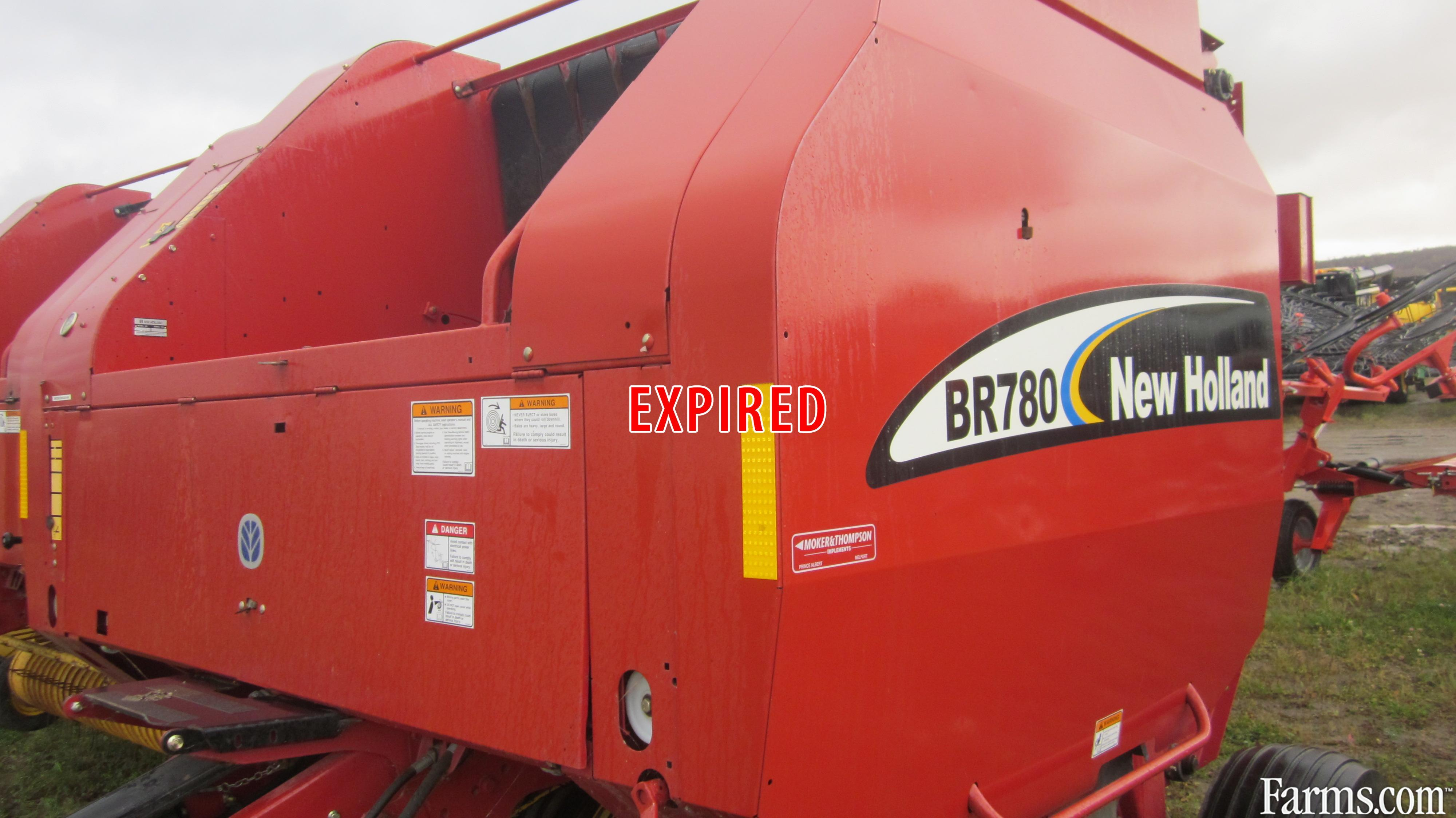 New Holland 2003 BR780 Balers - Round