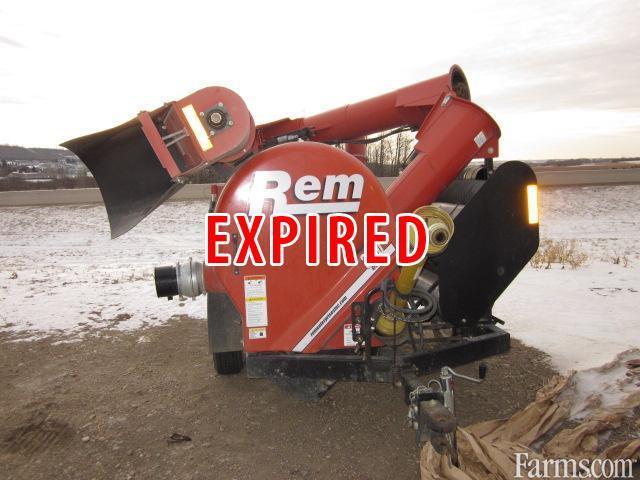 REM Mfg 2008 3700 Grain Vacuums