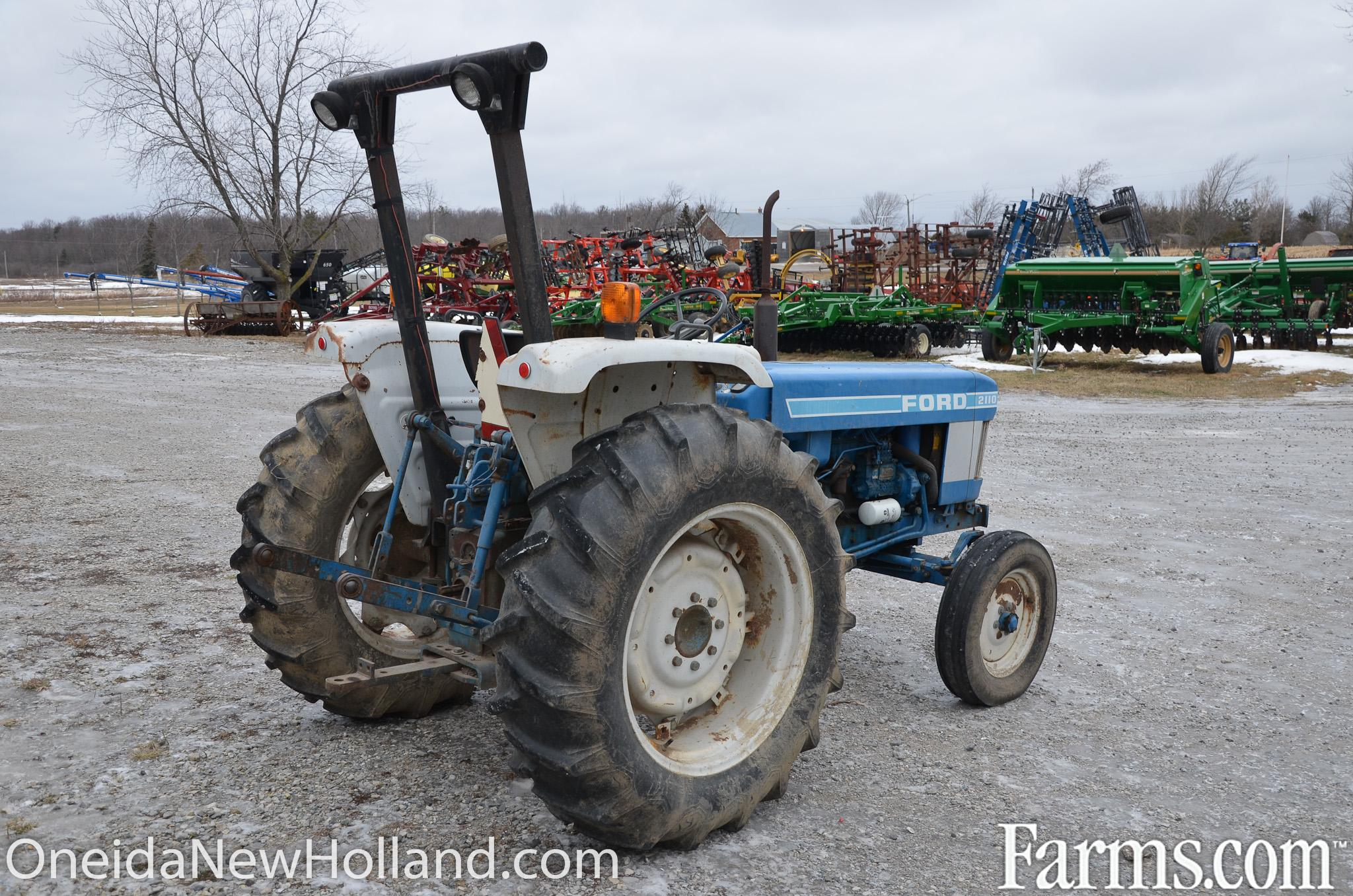 Ford 2110 Tractor : Ford tractor for sale farms