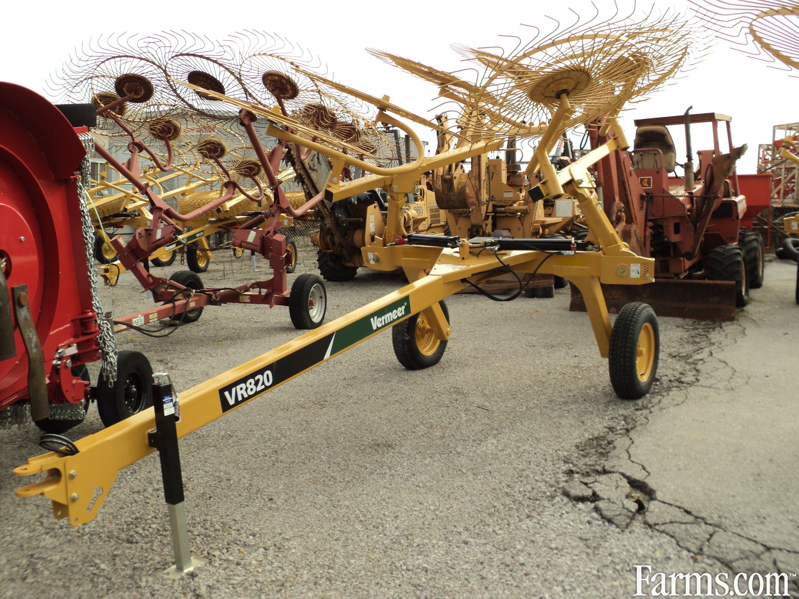 Vermeer VR820 8 wheel rake for Sale   Farms.com