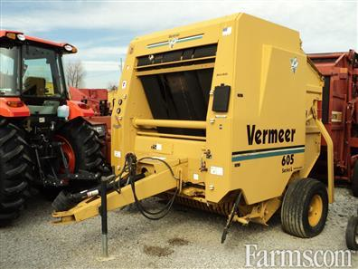 vermeer mfg co 605l balers round for sale usfarmer com rh usfarmer com Vermeer 605C Round Baler Used VERMEER Balers