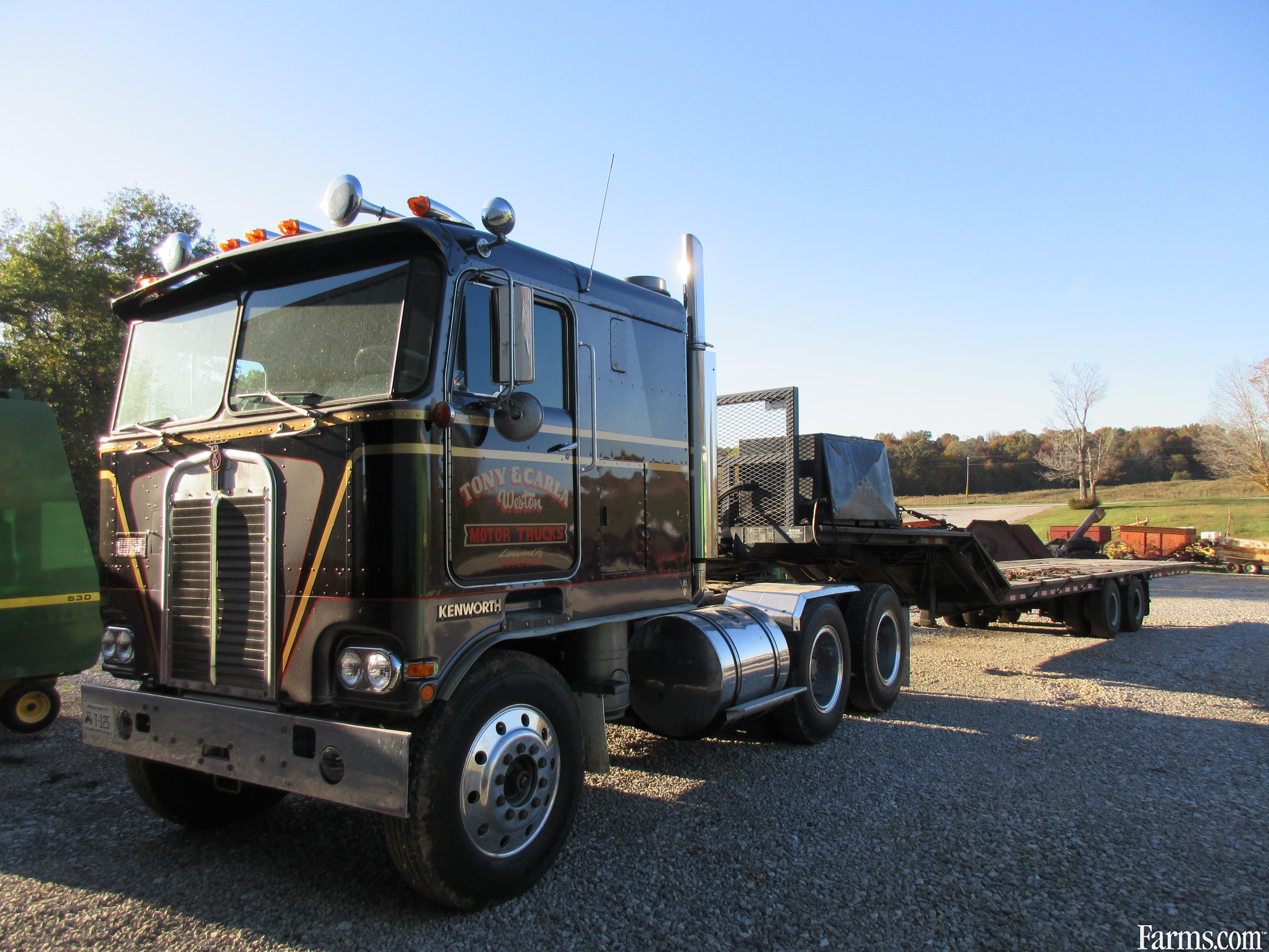 Cabover Trucks For Sale >> Kenworth 1968 K125 Cabover Trucks For Sale Usfarmer Com