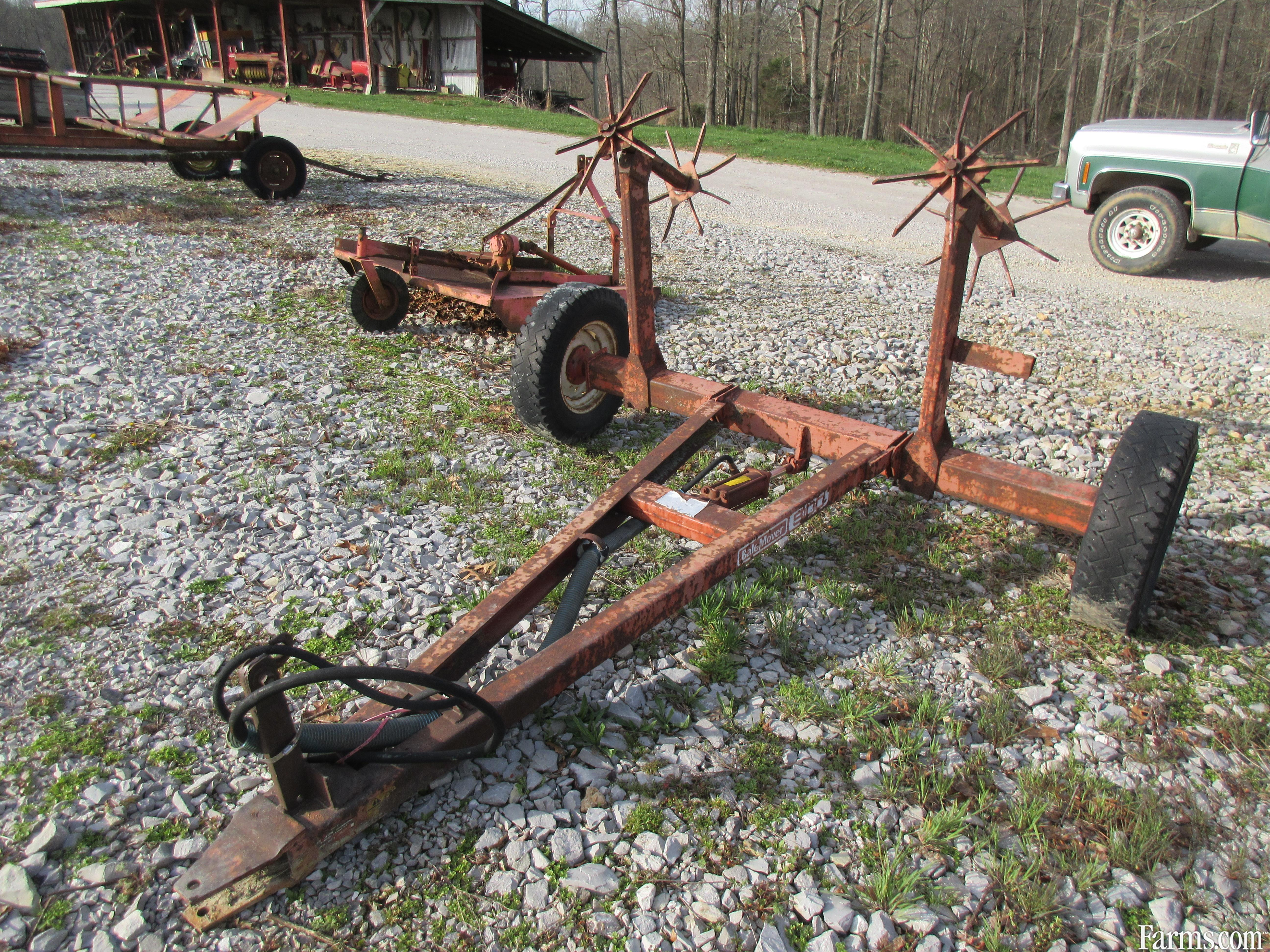 Hesston Roll Bale Trailer For Sale Farms Com
