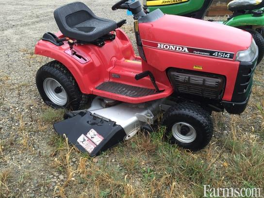 1998 honda h4514hsa riding lawn mower for sale for Used lawn and garden equipment