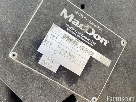 2019 MacDon Industries FD140